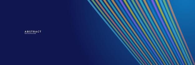 Wysoki kontrast niebieskie i kolorowe futurystyczne tło korporacyjne
