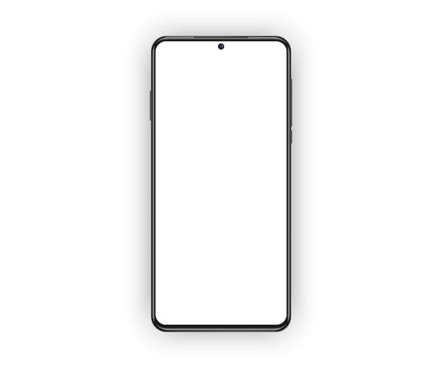 Wysoki szczegółowy realistyczny smartfon