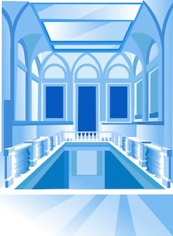 Wystawa architektura, muzeum