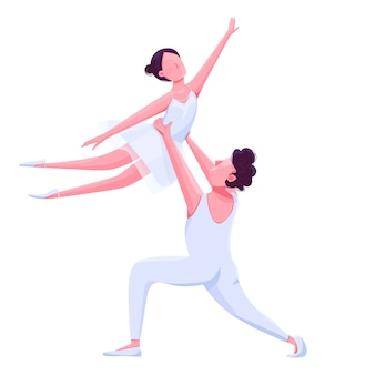 Występ tancerzy baletowych