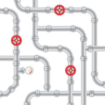Wyszczególnia rury różne typy kolekcja konstrukcji rurowych zaworów gazowych przemysłu rur wodnych.