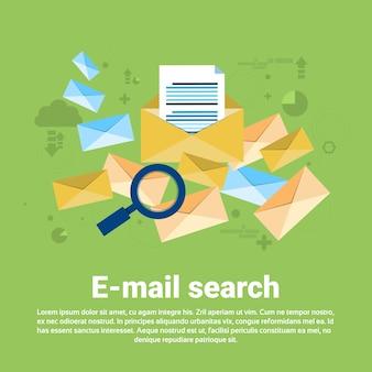 Wyszukiwanie e-mail treść cyfrowa technologia informacyjna
