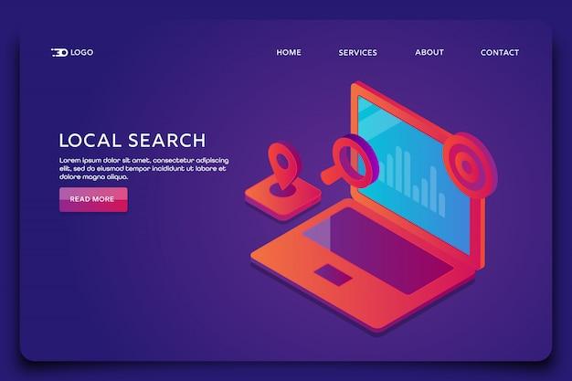 Wyszukiwanie lokalne seo