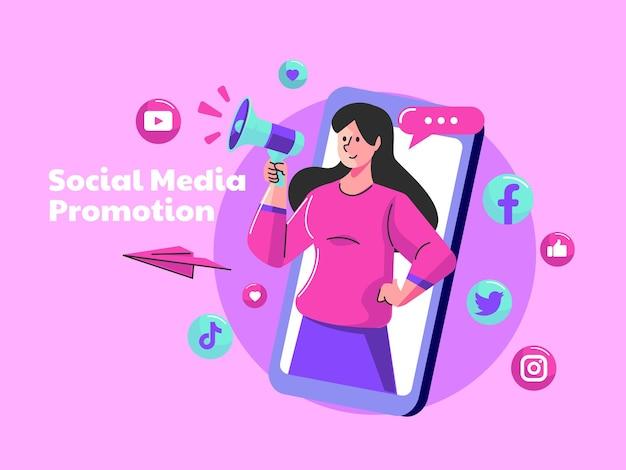 Wywieraj wpływ i promuj koncepcję mediów społecznościowych