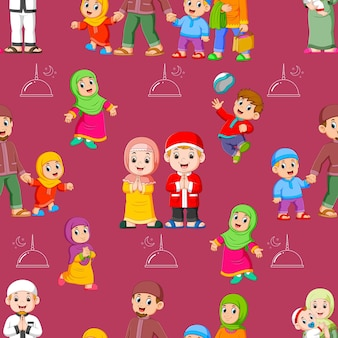 Wzór aktywności dzieci
