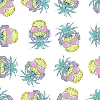 Wzór ananasa bez szwu