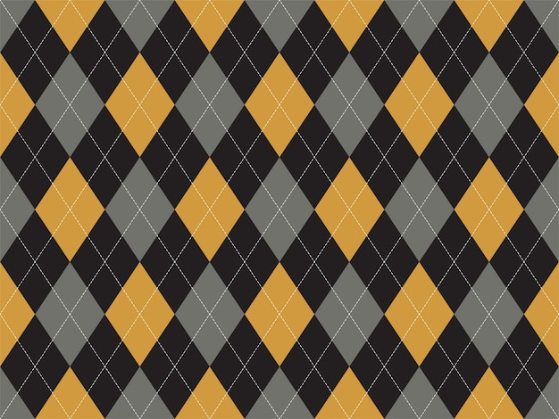 Wzór argyle bez szwu. tekstura tkanina tło.