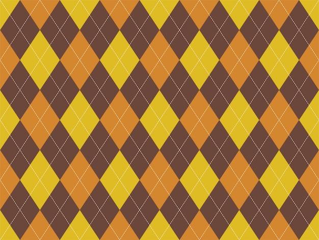 Wzór argyle bez szwu. tkanina tekstura tło. klasyczny argill.