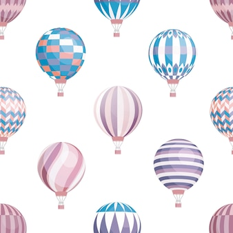 Wzór balonów powietrznych