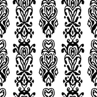 Wzór bez szwu ornament folklorystyczny