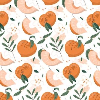 Wzór brzoskwiniowy pattern