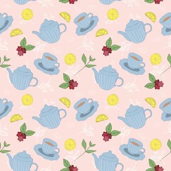 Wzór czasu na herbatę / tło