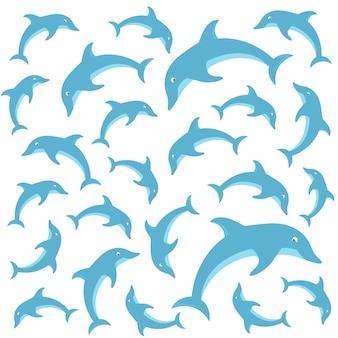 Wzór delfinów