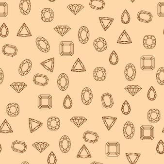 Wzór diamentów
