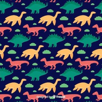 Wzór dinozaura