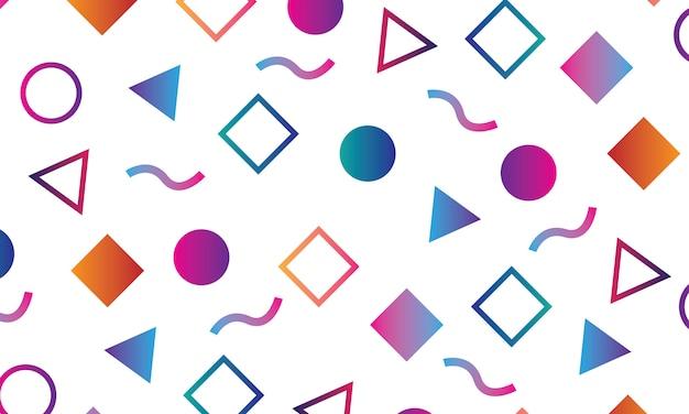 Wzór elementów geometrycznych