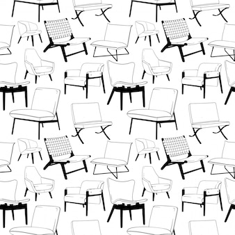 Wzór fotel