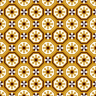 Wzór geometrii linii kropka vintage wielokąta