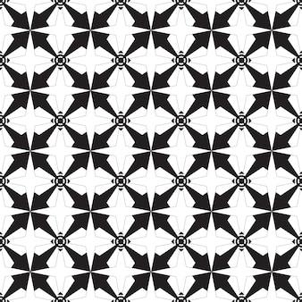 Wzór geometryczny. czarno-białe tło.