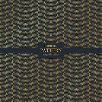 Wzór geometryczny luksusowa złota linia tekstury
