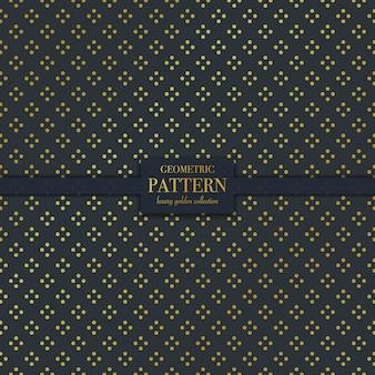 Wzór geometryczny luksusowe złote kropki tekstury