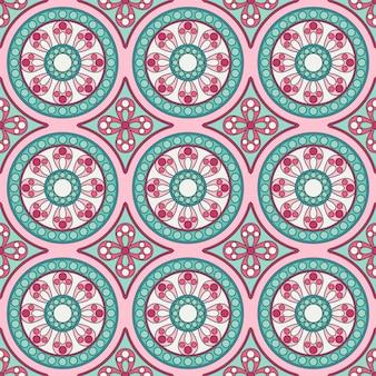 Wzór geometryczny ornament bez szwu