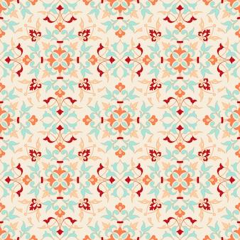 Wzór geometryczny ornament w stylu zentangle