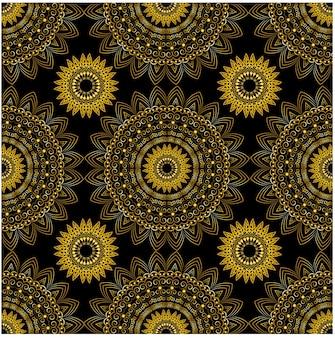 Wzór geometryczny ornament