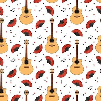 Wzór gitary