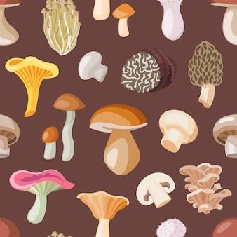 Wzór grzybów