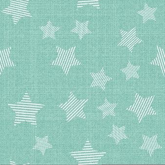Wzór gwiazdek na tkaninie. streszczenie tło geometryczne, ilustracji wektorowych. kreatywny i luksusowy obraz w stylu