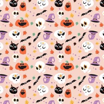 Wzór halloween
