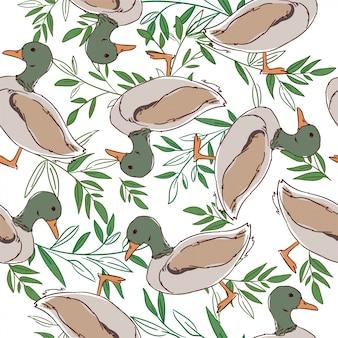 Wzór kaczki