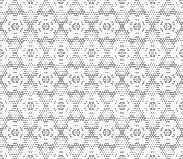 Wzór kalejdoskopu. trójkątny druk geometryczny