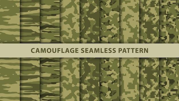 Wzór kamuflażu wojskowego i wojskowego