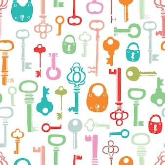 Wzór kluczy kolorów