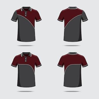 Wzór koszulki polo