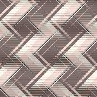 Wzór kratkę kratę. płaska konstrukcja tkaniny. tartan.