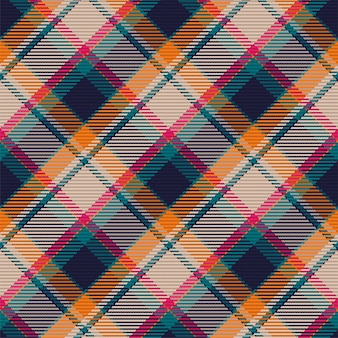Wzór kratki w szkocką kratę. powtarzalne tło