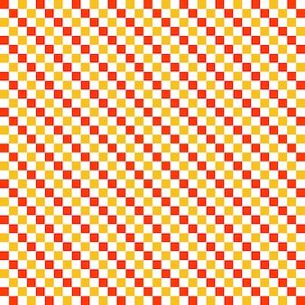 Wzór kwadratów, geometryczne proste tło. elegancka i luksusowa ilustracja w stylu