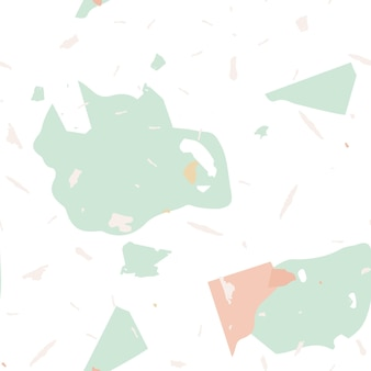 Wzór lastryko. ziemna, minimalistyczna płytka podłogowa do dekoracji wnętrz. lastryko wzór w fajnych kolorach. tło wykonane z kamieni naturalnych, granitu, kwarcu, marmuru, betonu.