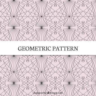 Wzór linii geometrycznych