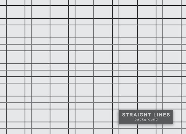 Wzór linii prostych