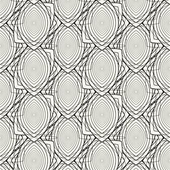 Wzór liniowy płaskie abstrakcyjne linie