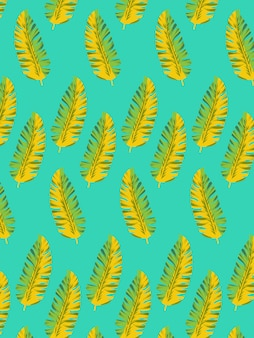 Wzór liścia banana