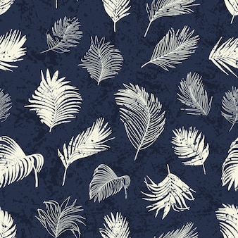 Wzór liścia palmy