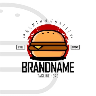 Wzór logo burger b