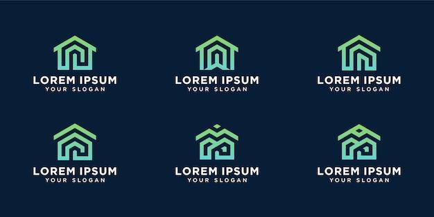 Wzór logo homes