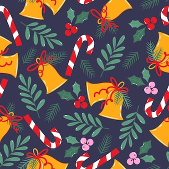 Wzór na boże narodzenie papier pakowy lub tekstylia.