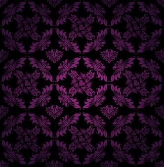 Wzór, ornament liliowy